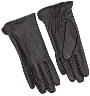 Pieces Nellie Leather Glove Black M