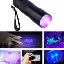 9 LED UV Curing Light Repair UV Curing Lights Ultraviolet Lamp Torch Flashligh AAA for mobile phone iPhone sumsung touch screen