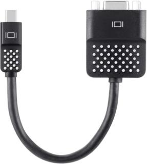 Belkin DisplayPort / VGA Adapter [1x Mini-DisplayPort stik - 1x VGA-tilslutning] Sort