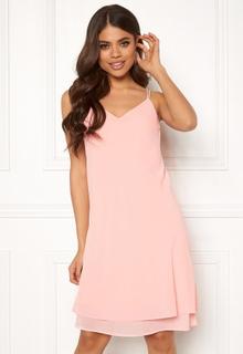 Pieces Kaysa SL Dress Peachskin XS