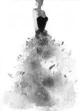 Poster Dress - 50x70 cm