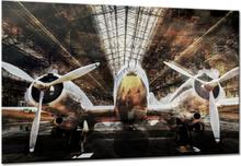 Canvastavla Bomber - 100x75 cm