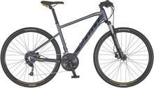 Scott Sub Cross 40 Hybridcykel Alu, Shim Altus 9s, 14kg