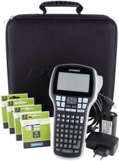 DYMO Labelmanager 420P Koffer-Set Märkmaskin Lämplig för tejp: D1 6 mm, 9 mm, 12 mm, 19 mm