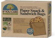 Ubleget Papir Snack & Sandwich poser
