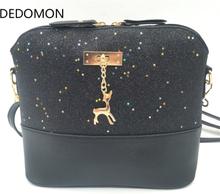 Luxury Handbags Women Bags Leather Designer 2019 Women Crossbody Shoulder Messenger Bags Shell Shape Lady Mini Bag With Deer Toy