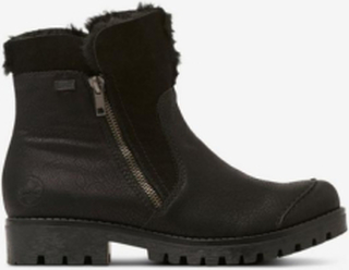 Boots med fuskepels