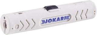 Kabelbeklædningsfjerner Egnet til Datorkablar, CAT5-kabel, CAT6-kabel, CAT7-kabel, Twisted-Pair Kabel 4.5 til 10 mm Jokari No. 1-Cat 30500