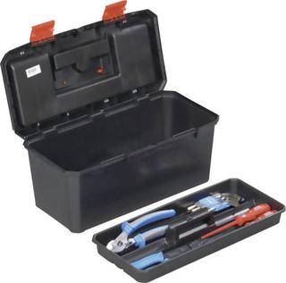 Alutec 56270 Værktøjskasse uden udstyr Plastic Sort, Orange