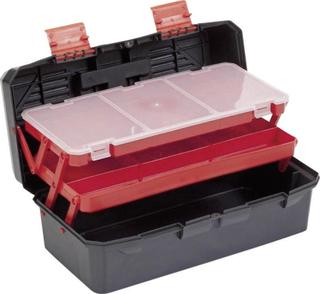 Alutec 56300 Værktøjskasse uden udstyr Plastic Sort, Orange