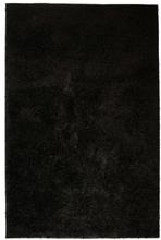 vidaXL Shaggy-matta 140x200 cm svart