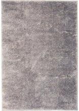 vidaXL Shaggy-matta 120x170 cm grå