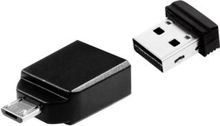 USB-ekstrahukommelse smartphone/tablet Verbatim Nano Store N GO USB 2.0, Mikro-USB 2.0 32 GB