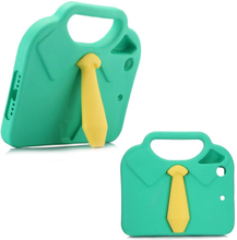 iPad Mini Børne Cover - 3D Slips m. Håndtag - Grøn