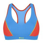Active Sports Padded Bra (Färg: Blå/Orange, Storlek: 85B)