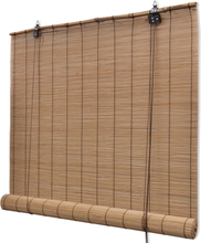 vidaXL Rullgardin bambu 150 x 220 cm brun