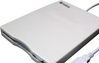 Sandberg USB Floppy Mini Reader