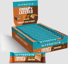 Crispy Layered Bar - Chocolate Caramel