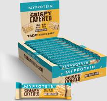 Crispy Layered Bar - White Chocolate Peanut