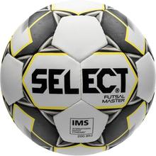 Select Fotboll Futsal Master Grain - Vit/Gul/Svart