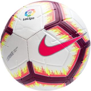 Nike Fotboll Strike La Liga - Vit/Rosa/Bordeaux