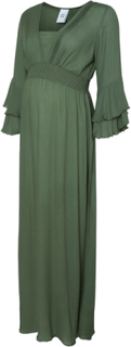 MAMA.LICIOUS Maxi Maternity Dress Kvinna Grön