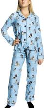 PJ Salvage Chelsea Fit Flannel Pyjama * Fri Frakt *