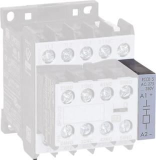 Varistor för kontaktorer 1 st VRC0-3 E50 WEG Serie: Weg Serie CWC07, Weg Serie CWC09, Weg Serie CWC12, Weg Serie CWC16, Weg Serie CWC25, Weg Serie CWCA0