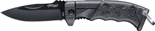 Walther Micro PPQ 5.0769 Outdoorkniv med nøglering Sort