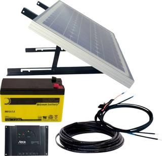 Phaesun Energy Generation Kit Solar Rise Nine 1.0 600299 Solcelleanlæg 10 Wp inkl. batteri, inkl. tilslutningskabel, inkl. opladningsregulator