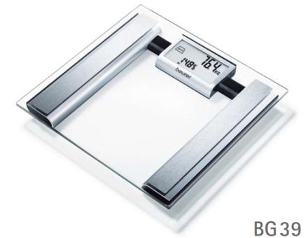 Beurer BG039 Personvægt. 4 stk. på lager