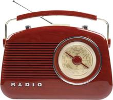 König AM/FM-radio i retrodesign BRUN