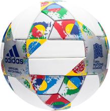 adidas Fotboll UEFA Nations League Matchboll - Vit Silver Multicolor 711e3c9e00eaf