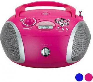 Radio CD MP3 Grundig GDP6310 CD-R / CD-RW FM USB 3W - Färg: Rosa