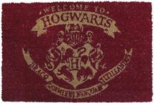 Harry Potter - Welcome To Hogwarts -Dørmatte - flerfarget