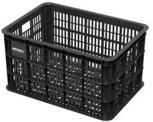 Basil Bicycle Crate L - Synthetic 50L Black