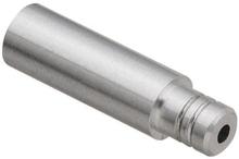 Ändhylsa växelvajerhölje 1st - Alu, 4mm inner, 4mm ytter