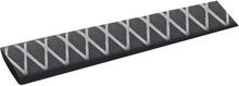 TRU COMPONENTS 1570904 Krympslang utan lim Svart 20 mm Krympförhållande:2:1 1 m