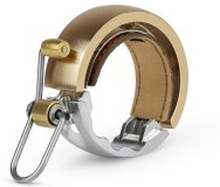 Ringklocka Knog Oi Luxe - Large Brass