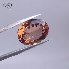 CSJ Created Diaspore Zultanite Oval Cut Loose Gemstone Sultanite For Diy Fine Jewelry 925 Silver Mounting Color Change Stone