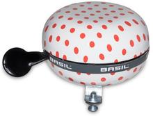 Basil Big Bell Polkadot - White/Red Dots 80mm