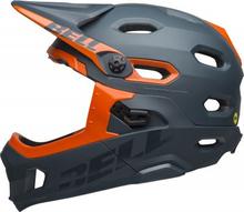 BELL SUPER DH MIPS Mat/Gls Slate/Orange, M