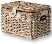 Basil Basket Denton M Trnsprt - Rattan 35x26x26cm Nature Grey