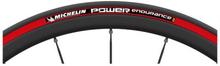 Däck Michelin Power Endurance - röd 25-622/700X25C vikbart