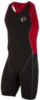 Triathlondräkt Elite Pursuit - black/true red XS