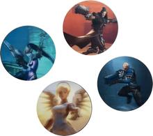 Overwatch - 3D Untersetzer -Underlag - flerfarget