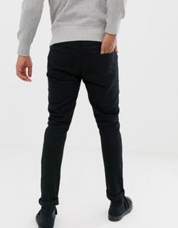 Sorte jeans i skinny pasform fra Brave Soul