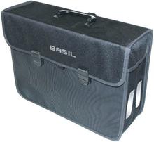 Basil Bicycle Bag Malaga - Take Away Bag 17L Black XL