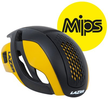 Lazer hjälm Bullet MIPS - matt svart gul L 58-61cm