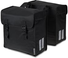 Basil Bicycle Bag Mara - Double Bag 52L Black 3XL